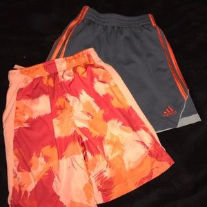 boys adidas and nike shorts